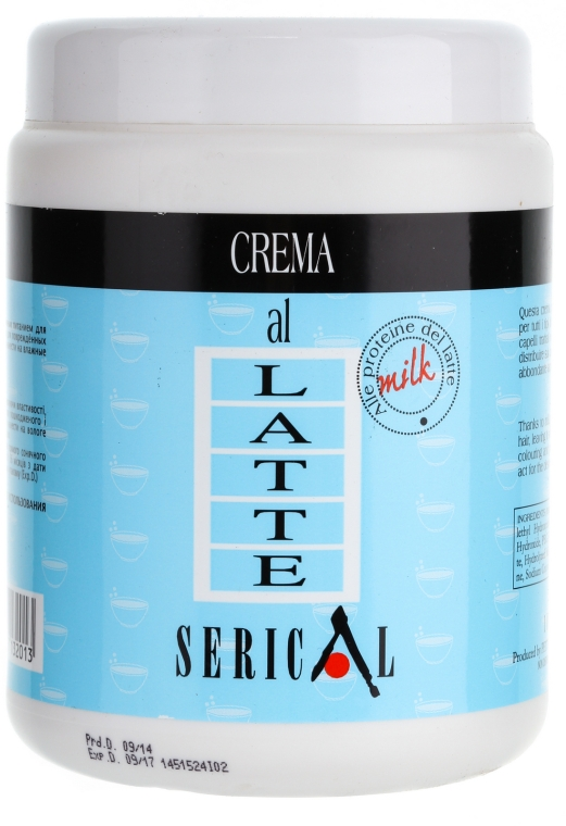 Krém maszk tejproteinnel - Pettenon Serical