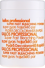 Parfüm, Parfüméria, kozmetikum Hajszőkítő por - Kallos Cosmetics Powder For Hair Bleaching