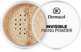 Parfüm, Parfüméria, kozmetikum Áttetsző fixáló púder - Dermacol Invisible Fixing Powder