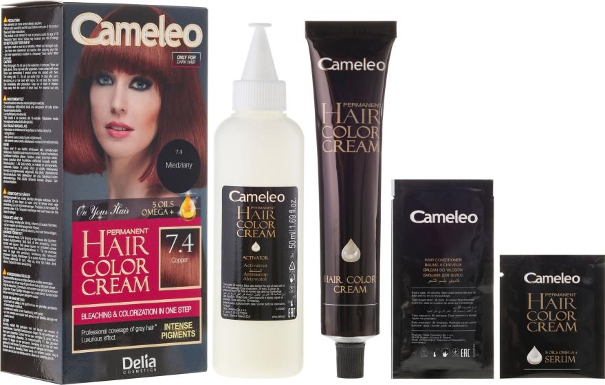 Tartós hajfesték természetes olajokkal - Delia Cameleo Omega +