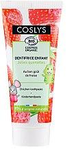 Parfüm, Parfüméria, kozmetikum Gyerekfogkrém eper ízesítéssel - Coslys Junior Toothpaste