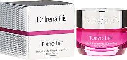 Parfüm, Parfüméria, kozmetikum Éjszakai simító arckrém - Dr Irena Eris Tokyo Lift Instant Smoothing & Detoxifing Night Cream