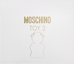 Parfüm, Parfüméria, kozmetikum Moschino Toy 2 - Szett (edp/50ml + b/lot/50ml + sh/gel/50ml)