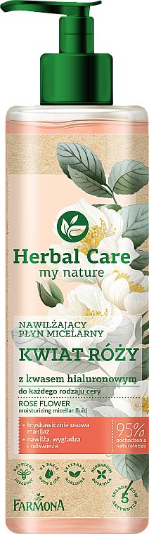 Rózsa virág hidratáló micellás víz - Farmona Herbal Care Micellar Water