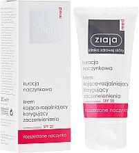 Parfüm, Parfüméria, kozmetikum Nyugtató és bőrfehérítő arckrém SPF20 - Ziaja Med Soothing And Whitening Cream SPF20
