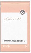 Parfüm, Parfüméria, kozmetikum Hialuron arcmaszk - Dewytree Hyaluron Melting Chou Mask