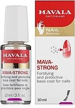 Parfüm, Parfüméria, kozmetikum Átlátszó fedőlakk - Mavala Colorfix Strong Flexible Top Coat