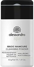Parfüm, Parfüméria, kozmetikum Tisztító púder kézre - Alessandro International Spa Magic Manicure Cleansing Powder