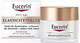 Parfüm, Parfüméria, kozmetikum Anti-age nappali arckrém - Eucerin Hyaluron-Filler + Elasticity Day SPF15 Cream