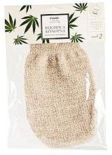 Parfüm, Parfüméria, kozmetikum Fürdőkesztyű lenből és kenderből - Mohani Bath Glove