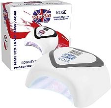 Parfüm, Parfüméria, kozmetikum LED lámpa, ezüst - Ronney Professional Rose LED 24W/48W (GY-LED-035) Lamp