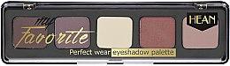 Parfüm, Parfüméria, kozmetikum Szemhéjfesték paletta - Hean My favorite Eye Shadow Palette