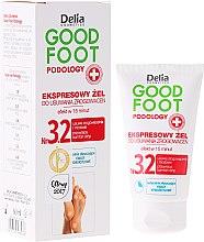 Parfüm, Parfüméria, kozmetikum Kallusz eltávolító gél - Delia Cosmetics Good Foot Podology Nr 3.2