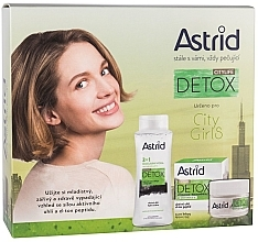 Parfüm, Parfüméria, kozmetikum Szett - Astrid Citylife Detox (cr/50ml + m/water/400ml)