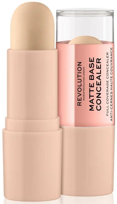 Mattitó korrektor - Makeup Revolution Matte Base Concealer
