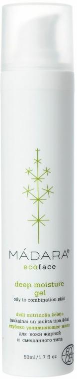 Mélyen hidratáló zselé - Madara Cosmetics Deep Moisture Gel — fotó N1