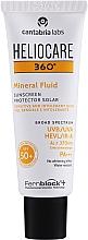 Parfüm, Parfüméria, kozmetikum Napvédő ásványi fluid - Cantabria Labs Heliocare 360º Mineral Fluid SPF 50+