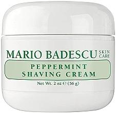 Parfüm, Parfüméria, kozmetikum Borotva krém mentával - Mario Badescu Peppermint Shaving Cream