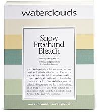 Parfüm, Parfüméria, kozmetikum Hajszín eltávolító por balayage festéshez - Waterclouds Snow Bleach Freehand
