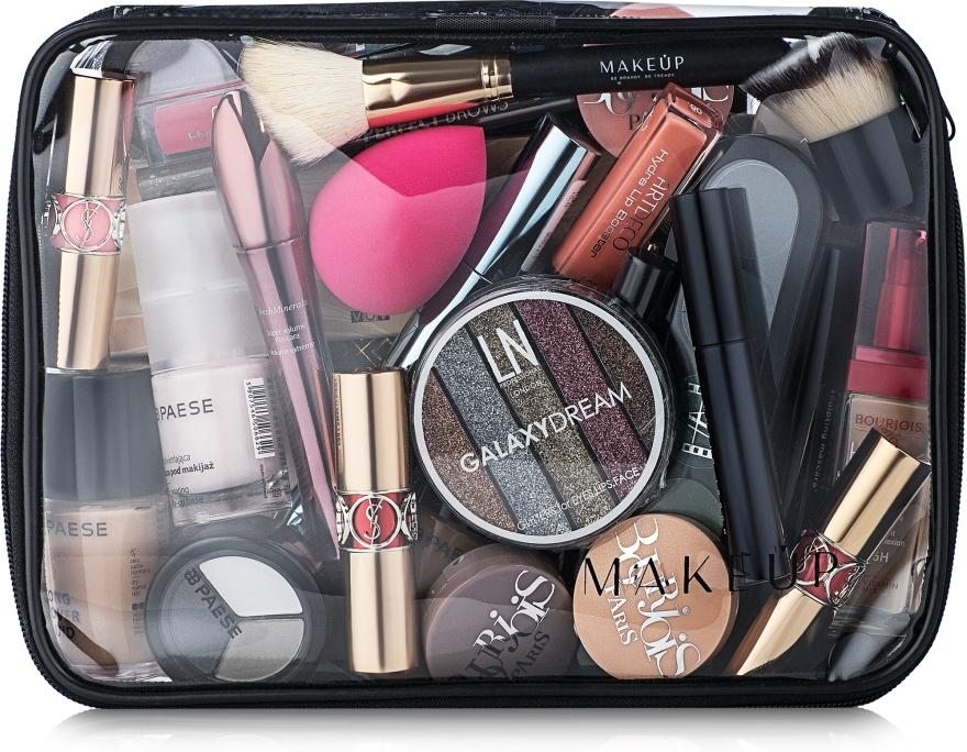 """Neszeszer, átlátszó (kozmetikumok nélkül) """"Visible Bag"""" 25x18x8cm - MakeUp"""