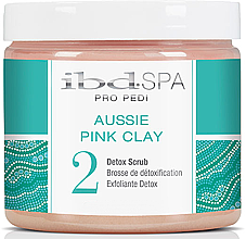 """Parfüm, Parfüméria, kozmetikum Kéz és lábradír """"Rózsaszín agyag"""" - IBD Aussie Pink Clay Detox Scrub"""