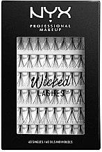 Parfüm, Parfüméria, kozmetikum Tincses szempilla szett, 60 db - NYX Professional Makeup Wicked Lashes Singles