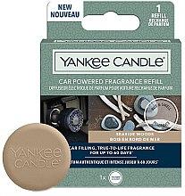 Parfüm, Parfüméria, kozmetikum Autóillatosító (csereblokk) - Yankee Candle Car Powered Fragrance Refill Seaside Woods