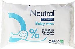 Parfüm, Parfüméria, kozmetikum Nedves törlőkendő gyerekeknek - Neutral Baby Wet Wipes