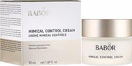 Parfüm, Parfüméria, kozmetikum Kontrol krém mimikai ráncok ellen - Babor Mimical Control Cream