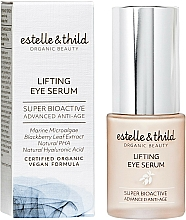 Parfüm, Parfüméria, kozmetikum Szemszérum - Estelle & Thild Super Bioactive Lifting Eye Serum