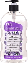 Parfüm, Parfüméria, kozmetikum Levendula illató alkoholos kézzselé - Bluxcosmetics Naturaphy Alcohol Hand Sanitizer With Lavender Fragrance