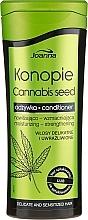 Parfüm, Parfüméria, kozmetikum Kondicionáló kendermaggal - Joanna Cannabis Seed Moisturizing-Strengthening Conditioner