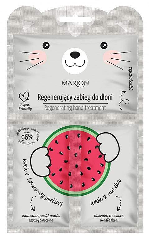 """Helyreállító eljárás a kéz számára """"Görög dinnye"""" - Marion Funny Animals Regenerating Hand Treatment"""