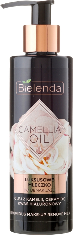 Sminklemosó tej - Bielenda Camellia Oil Luxurious Make-up Removing Milk