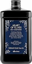 Parfüm, Parfüméria, kozmetikum Színt megőrző tápláló kondicionáló, szőkéhez - Davines Heart Of Glass Rich Conditioner