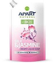 """Parfüm, Parfüméria, kozmetikum Folyékony szappan """"Selyem és jázmin"""" - Apart Natural Silk & Jasmine Soap (utántöltő)"""