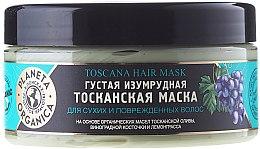 """Parfüm, Parfüméria, kozmetikum Maszk száraz és sérült hajra """"Vastag Emerald toszkán"""" - Planeta Organica Toscana Hair Mask"""