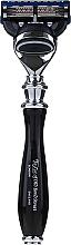 Parfüm, Parfüméria, kozmetikum Borotva, 15542B - Taylor Of Old Bond Street Fusion Gray/Black Victorian Handle