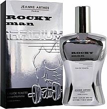 Parfüm, Parfüméria, kozmetikum Jeanne Arthes Rocky Man Irridium - Eau De Toilette