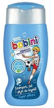"Parfüm, Parfüméria, kozmetikum Sampon, tusfürdő és fürdőhab ""Super foci"" - Bobini"