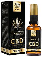 Parfüm, Parfüméria, kozmetikum Természetes kenderolaj Bio CBD 500mg - Dr. T&J Bio Oil