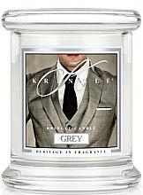 Parfüm, Parfüméria, kozmetikum Illatgyertya üvegben - Kringle Candle Grey