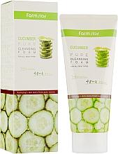 Parfüm, Parfüméria, kozmetikum Arctisztító hab uborka kivonattal - FarmStay Pure Cleansing Foam Cucumber