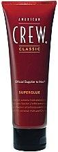 Parfüm, Parfüméria, kozmetikum Hajformázó zselé erős fixálás - American Crew Classic Superglue Gel
