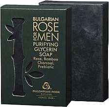 Parfüm, Parfüméria, kozmetikum Glicerin szappan - Bulgarian Rose For Men Purifying Glycerin Soap
