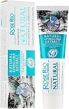 Parfüm, Parfüméria, kozmetikum Fogkrém - Rose Rio Natural Sea Minerals & Spirulina Toothpaste