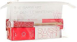 Parfüm, Parfüméria, kozmetikum Készlet - Swissdent Extreme Promo Kit (toothpaste/50ml+mouth/spr/9ml+soft/toothbrush/1pc+bag)
