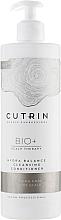 Parfüm, Parfüméria, kozmetikum Tisztító hajkondicionáló - Cutrin Bio+ Hydra Balance Cleansing Conditioner