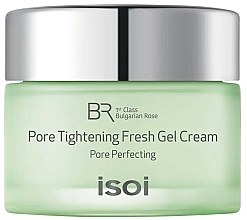 Parfüm, Parfüméria, kozmetikum Gél krém arcra - Isoi Bulgarian Rose Pore Tightening Fresh Gel Cream