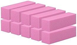 Parfüm, Parfüméria, kozmetikum Négyoldalas köröm buffer, rózsaszín, 10 db - Tools For Beauty